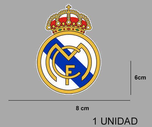 Pegatina ESCUDO REAL MADRID REF  PD335 - Ecoshirt pegatinas y . ff70a73d37fc8