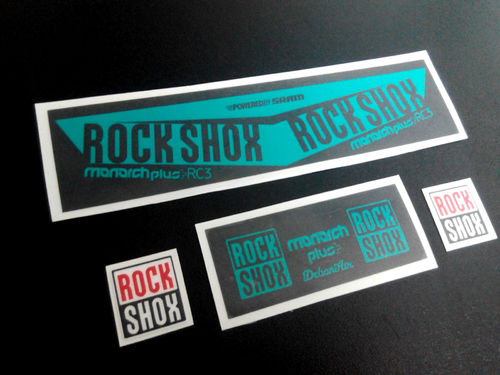 STICKERS ROCK SHOX MONARCH PLUS RC3 2016 ECO06B STICKERS AUFKLEBER ADESIVI