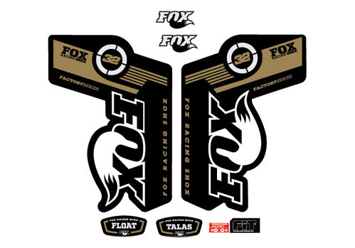 STICKERS FACTORY SERIES FLOAT TALAS FOX 32 AM12  FORK STICKERS AUFKLEBER ADESIVI BIKE