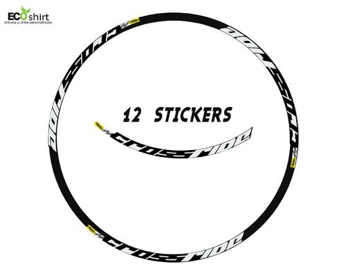 "DES AUTOCOLLANTS UN FEUILLARD MAVIC CROSSRIDE 29 ""AM15 ADESIVI DECAL AUFKLEBER MTB STICKERS BIKE."