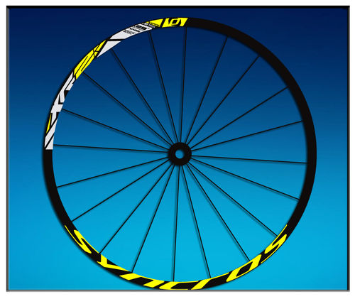 "DES AUTOCOLLANTS STICKERS UN FEUILLARD RIM DT SWISS SYNCROSS XR25 29 ""AM42 MTB DOWNHILL."