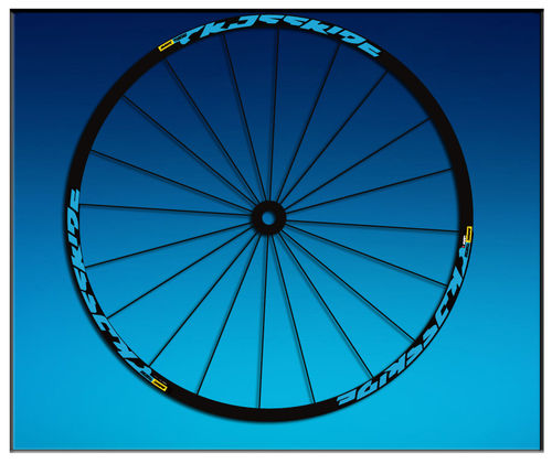 "DES AUTOCOLLANTS UN FEUILLARD RIM CROSSRIDE 2016 26 ""27,5 29"" BIKE AM52 MTB DOWNHILL."