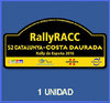PEGATINAS RALLYE CATALUÑA 2016 DP2002 SPAIN  STICKERS AUFKLEBER VINILOS ADESIVI DECALS