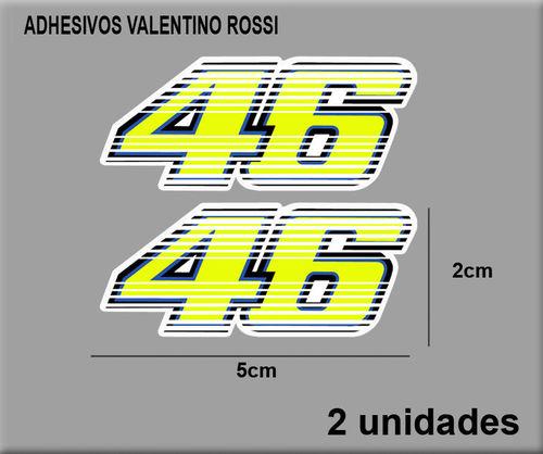 Sticker 46 Rossi Dp0200 Decal Aufkleber Autocollant Adesivo