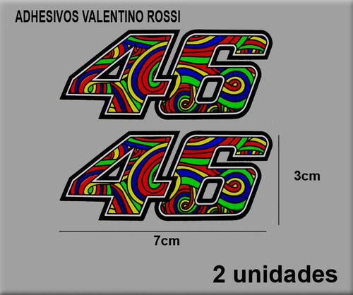 Stickers 46 Rossi Dp2003 Decal Aufkleber Autocollant Adesivo