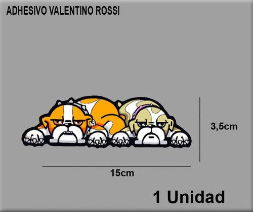 Sticker Dog Rossi Dp0216 Decal Aufkleber Autocollant Moto Gp