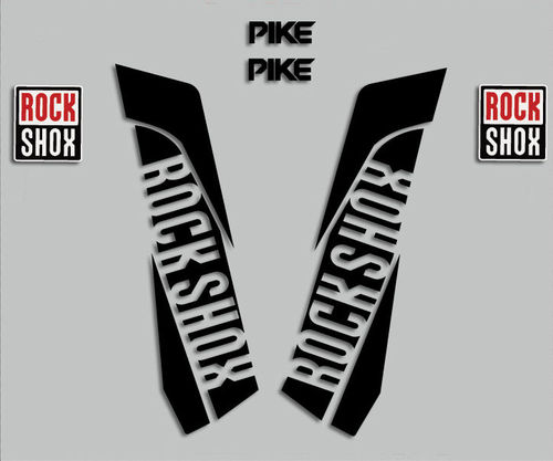 PEGATINAS STICKERS ROCK SHOX PIKE 2015 R276 DECALS AUFKLEBER AUTOCOLLANT ADESIVO
